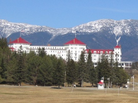 The Mt. Washington Hotel, Bretton Woods, NH, site of the creation of the current global economic governance arrangement (photo by robdebsgreen cc-by-nc-nd)