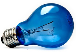 (blue lightbulb by Curious Zed, cc-by-nc-nd)